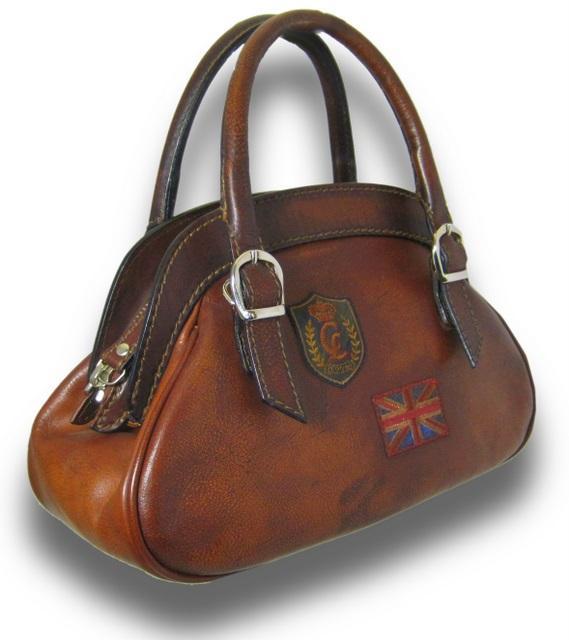 sac a main cuir vintage artisanal italie giotto 39 s pratesi. Black Bedroom Furniture Sets. Home Design Ideas