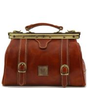Sac Cuir Vintage Femme Camel - Tuscany Leather -