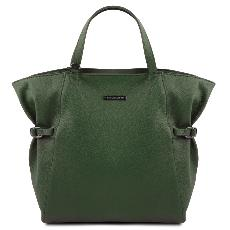 Grand Sac Shopping Cuir Souple Femme - Tuscany Leather -