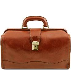 Sacoche Médicale Cuir Couleur Camel - Tuscany Leather -