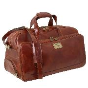 Sac de voyage Cuir Roulettes - Tuscany Leather -