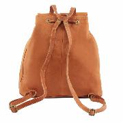 Sac à Dos Cuir  Souple Vert Kaki - Tuscany Leather -
