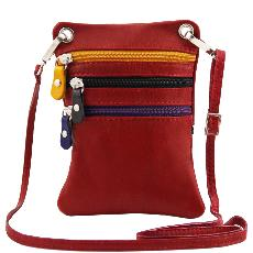 Sacoche Bandoulière Cuir Mixte  -Tuscany Leather -
