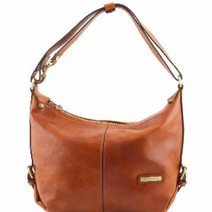 Sac Cuir Souple Epaule Femme -Tuscany Leather -