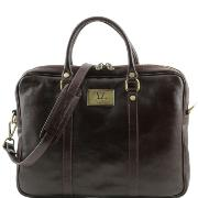 Sac Ordinateur Cuir Femme Homme   - Tuscany Leather -