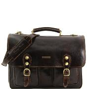 Solde Cartable Cuir  Vintage  - Tuscany Leather -