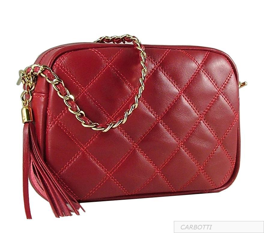 sac rouge style chanel