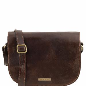 Sac Besace Bandouilère Cuir Femme  - Tuscany Leather -