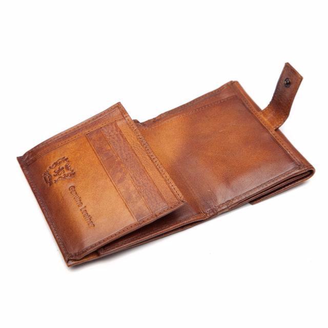 Portefeuille Cuir Vintage Fait Main Homme - Pratesi - 4f93d864961