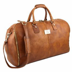 f54b686607 Sac de Voyage Housse Cuir Mat Pleine Fleur -Tuscany Leather -