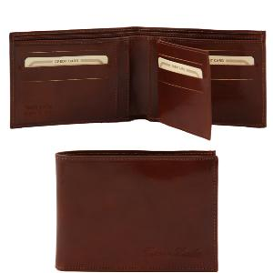 Portefeuille Cuir Homme 3 Volets - Tuscany Leather -