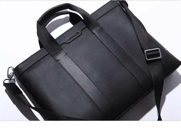 sac business pour ordinateur cuir homme avec bandouli re. Black Bedroom Furniture Sets. Home Design Ideas