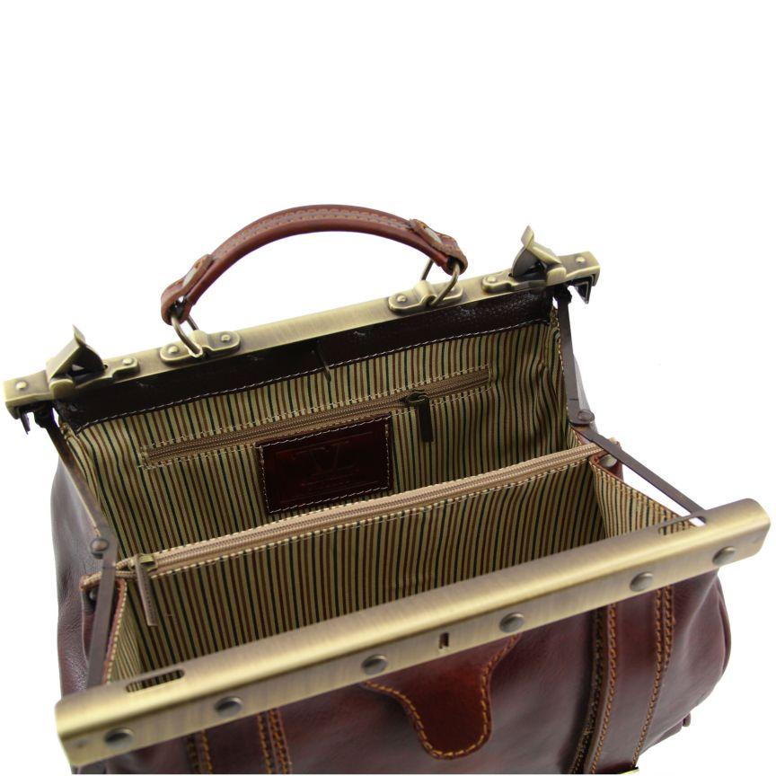 sac de médecin en cuir style vintage de tuscany leather ce sac de ...