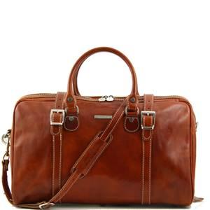 Tuscany Leather - Berlin - Sac de voyage en cuir - Petit modèle Miel - TL1014/3 fb3f64
