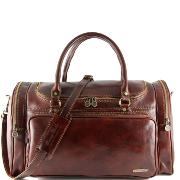 Sac de Voyage Cuir Italie Prague -Tuscany Leather-