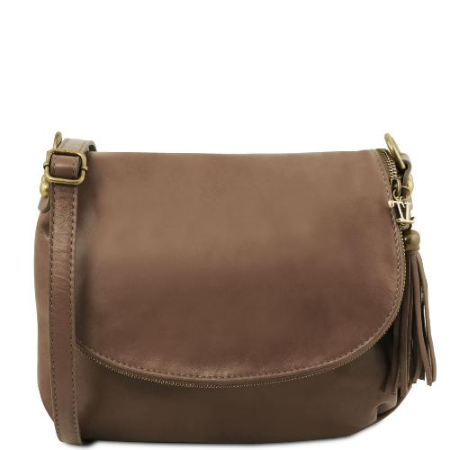 Sac Bandoulière Cuir Besace Femme - Tuscany Leather -