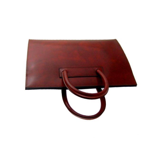 sacoche de travail classique cuir pour femme alberti pratesi. Black Bedroom Furniture Sets. Home Design Ideas