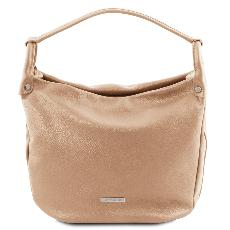 Sac Epaule Cuir Souple Femme -Tuscany Leather -