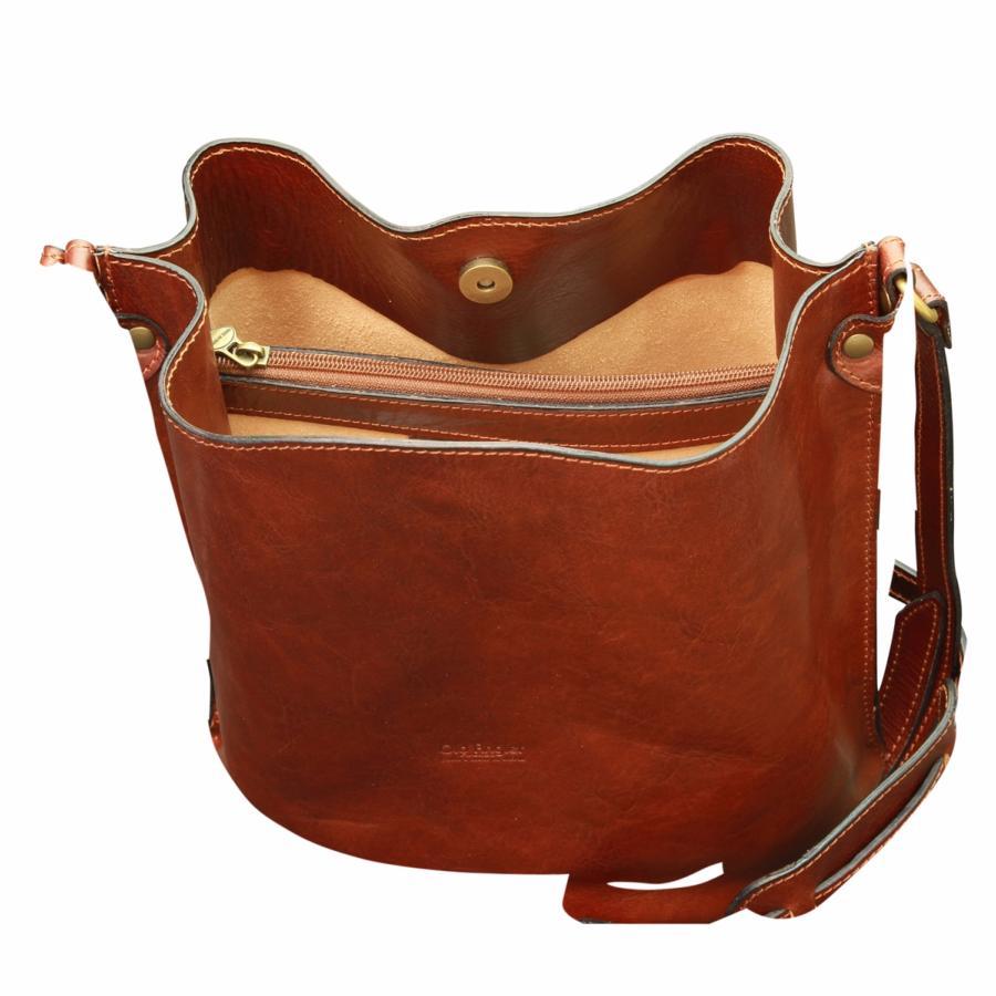sac bandouli re seau cuir vintage marron femme old angler. Black Bedroom Furniture Sets. Home Design Ideas