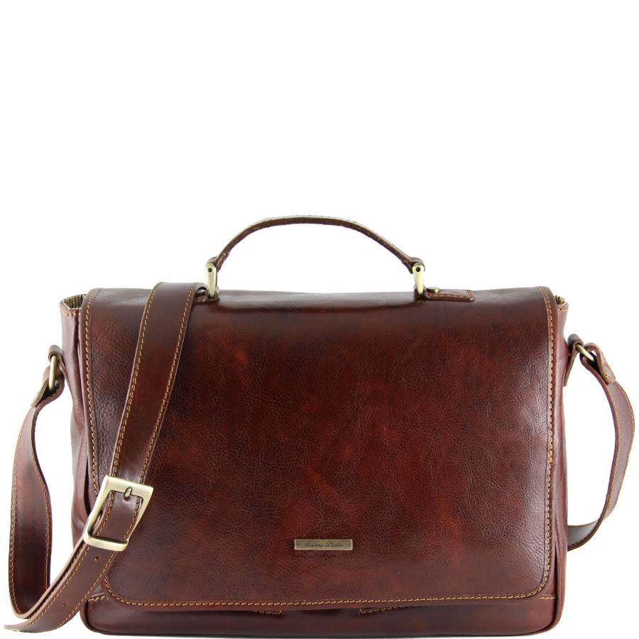 28ca8f731b Sacoche Cuir Homme pour Ordinateur Portable -Tuscany Leather-