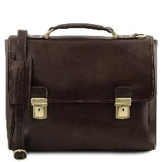 Sacoche Cuir Vintage pour Portable - Tuscany Leather -
