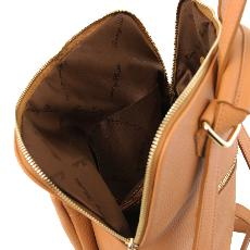 Sac à Dos Femme Cuir Souple Camel - Tuscany Leather -