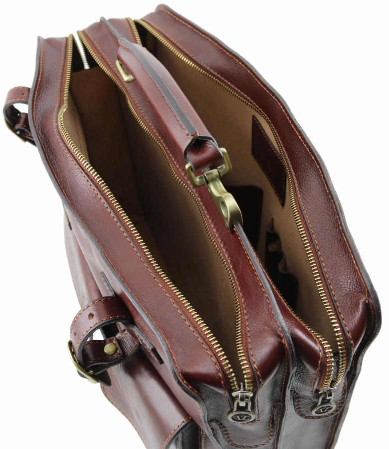 Femme Tuscany Marron Cuir Vintage Homme Sacoche Leather lF1TJKc