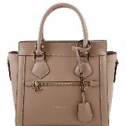 Sac Cuir  Beige Femme Nouvelle Collection -TUSCANY LEATHER-