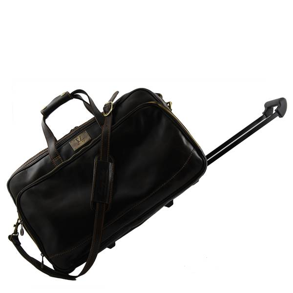sac voyage cuir roulettes bora bora tuscany leather. Black Bedroom Furniture Sets. Home Design Ideas