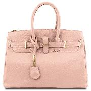 Sac Cuir Véritable Femme avec Sangle   - Tuscany Leather -