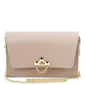 Sac Bandoulière Cuir Chainette Femme - Tuscany Leather -