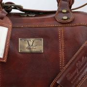 Grand Sac de Voyage Cuir Marron - Tuscany Leather -