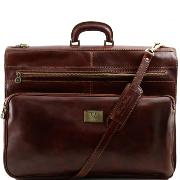 Housse a Vêtements Cuir Papeete Marron -Tuscany Leather-