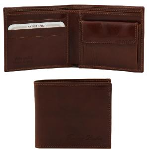 Portefeuille cuir homme Bernardo -Tuscany Leather-