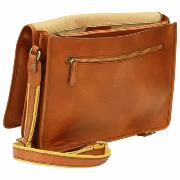 Sac Besace Cuir à Bandoulière Homme - Old Angler -