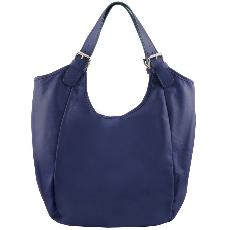 Sac Besace Fourre-Tout Cuir  Femme - Tuscany Leather -