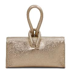 TL Bag Sac à Main Cuir Metallic Or - Tuscany Leather -