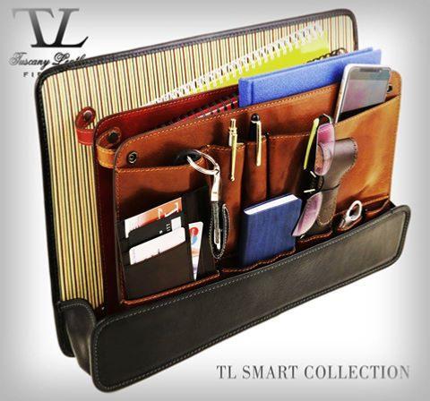 s parateur trieur amovible poches pour sacs tuscany leather. Black Bedroom Furniture Sets. Home Design Ideas