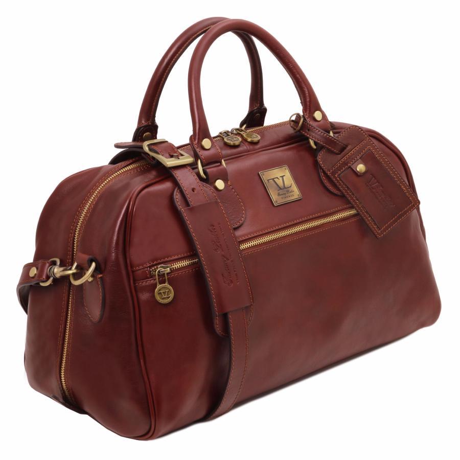 sac de voyage 48 h en cuir id al cabine avion tuscany leather. Black Bedroom Furniture Sets. Home Design Ideas
