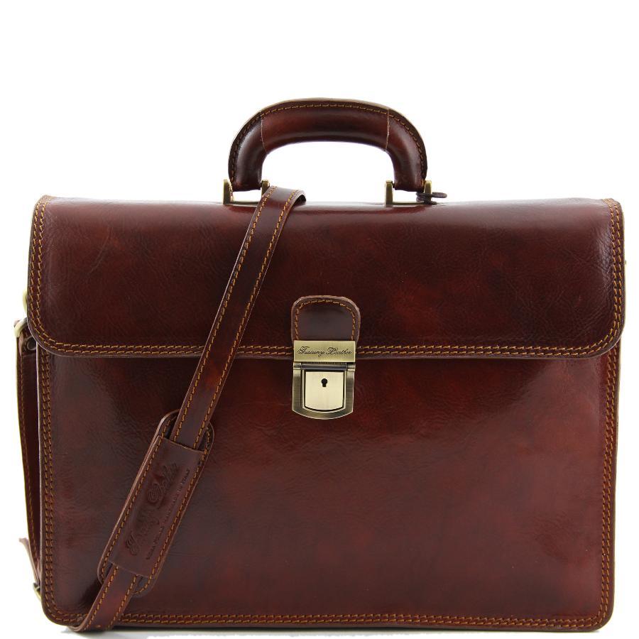 cartable cuir vintage 2 compartiments tuscany leather. Black Bedroom Furniture Sets. Home Design Ideas
