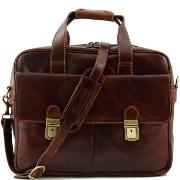 Sac Business Ordinateur Cuir  - Tuscany Leather -