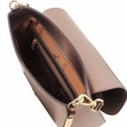 Sac Bandoulière Cuir Femme Nausica Bronze -Tuscany Leather-