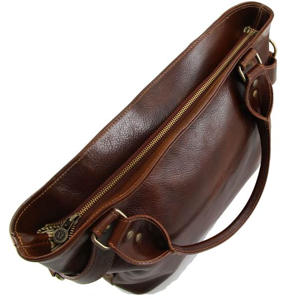Grand Sac Bandoulière Cuir Femme : Grand sac classique bandouli?re cuir femme tuscany leather