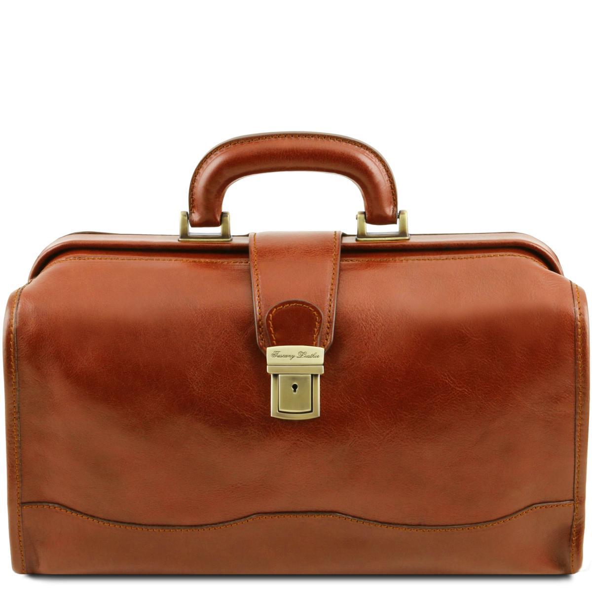 Sacoche Médicale Cuir Couleur Camel Tuscany Leather