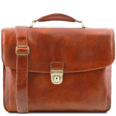 Cartable Porte-Ordinateur Cuir Alessandria - Tuscany Leather -