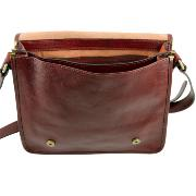 Promo Sac Besace Vintage Cuir   -Tuscany leather-